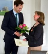 Hanelore Seitz Bundesverdientsordenübergabe